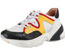 Sneakers gelb / rot / schwarz / weiß