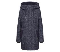 Mantel 'Hooded Coat' dunkelgrau