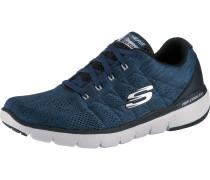 Sneaker blue denim / schwarz / weiß