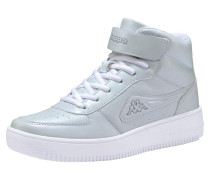 Sneaker 'Bash Mid' hellgrau / weiß