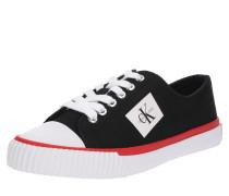 Sneaker 'ivory' schwarz