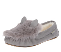 Slipper 'loafer*mouse' grau