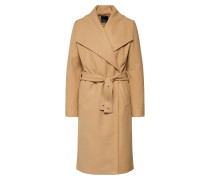 Mantel 'Longline Belt coat' camel