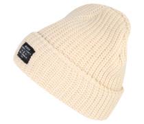 Mütze 'chunky Knit' beige