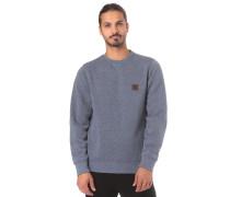 Sweatshirt 'Heavy Crew' blau