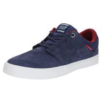 Sneaker 'Barton Suede' weiß / navy