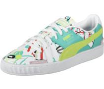 Sneaker jade / apfel / pastellrot / weiß
