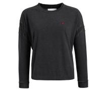 Sweatshirt 'lilja' schwarz