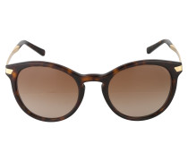 Sonnenbrille aus transparentem Kunststoff