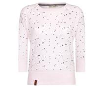 Pullover 'Maja Triangles' rosa