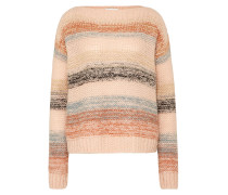 Pullover 'new Charlie' greige / rosa