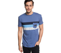 'Peaceful Progress' T-Shirt blau