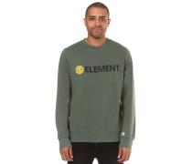 'Blazin Crew' Sweatshirt grün