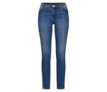 Jeans 'Ely red stripe' blue denim / rot