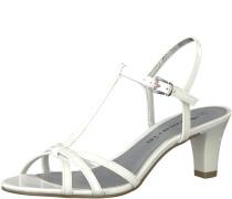 Sanale 'Medium Absatz Sandal' weiß