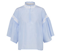 Bluse 'chambord' blau