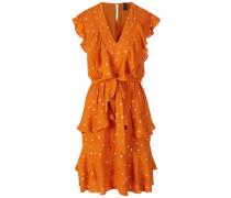 Minikleid gold / orange