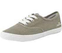 Sneakers khaki / weiß
