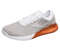 Sportschuhe 'Nano 9' greige / orange / weiß