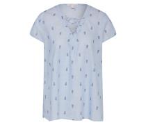 Shirt 'YD Fab Pri' navy / hellblau