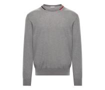 Moncler Pullover Mit Rundausschnitt