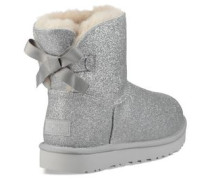 Mini Bailey Bow Sparkle Classic Boot Damen Silver