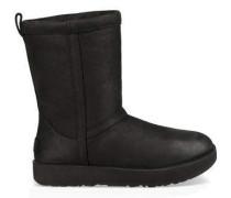Classic Short Leather Waterproof Boot Damen Black