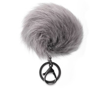 Toscana Pom Charm With Crystal Damen Charcoal O/S