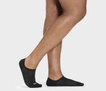 Sneaker Stela No Show 3 Pack Socken in Schwarz