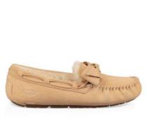 Dakota Leather Bow Damen Soft Ochre