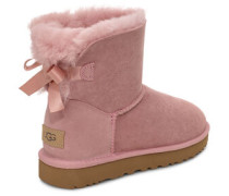 Mini Bailey Bow II Classic Stiefel in Pink Crystal