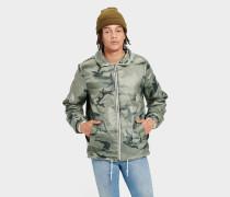 Mace Reverible herpa Jacke für Herren in Green Camo