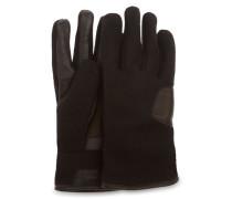 Fabric And Leather Handschuhe Herren Black