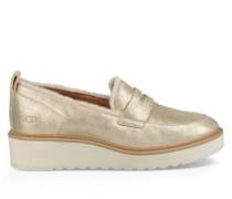 Atwater Metallic Loafer Damen Gold