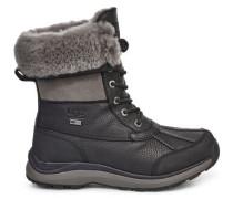 Winterstiefel Adirondack III Warme Stiefel aus Leder in Schwarz