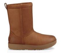 Classic Short Leather Waterproof Boot Damen Chestnut