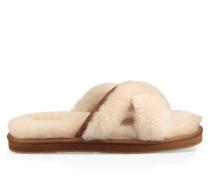 Abela Hausschuhe für Damen in Natürlich Weiß
