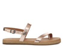Brylee Sandalen in Rose Gold