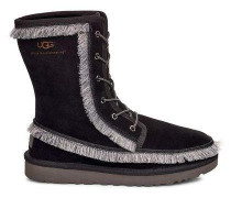 Riki Lace Tall White Mountaineering Classic Boot Herren Black