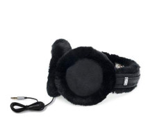 Classic Earmuff With Speaker Technology Damen Black