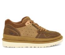 Highland Sneaker Stiefel aus Leder in Braun