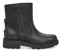 Oxfordschuhe Polk Ankle Stiefel aus Leder in Schwarz