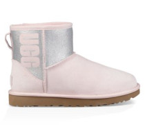 Classic Mini Logo Sparkle Boot Damen Seashell Pink