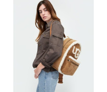 Dannie Sheepskin Backpack Damen Chestnut O/S