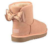 Satin Bow Mini Classic Boot Damen Suntan