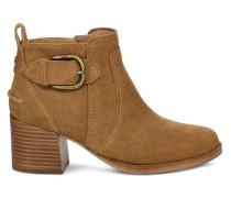 Leahy Ankle Stiefel für Damen aus Veloursleder in Braun
