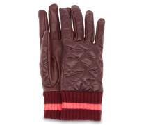 Quilted Varsity Handschuhe Damen Port M