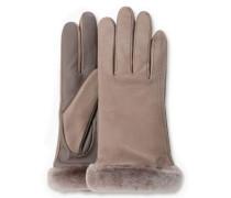 Classic Leather Smart Glove Damen Stormy Grey