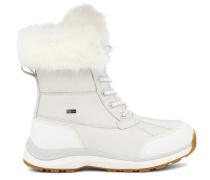 Adirondack III Fluff Warme Stiefel für Damen aus Leder in Weiß