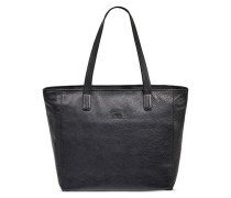 Alina Leather Totes Damen Black
